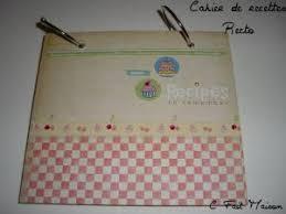 classeur recette cuisine cahier de recettes par melclaudel