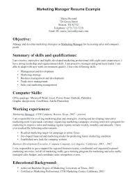 marketing resume summary of qualifications exle for resume summary for resume sle