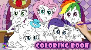 my little pony color book my little pony coloring book equestria girls delight mlp