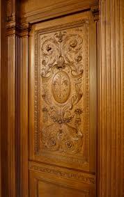luxury carving flower wooden single main door design u2013 750 500