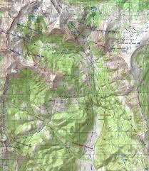 Colorado Lakes Map by Chama Falls Dougscottart Com