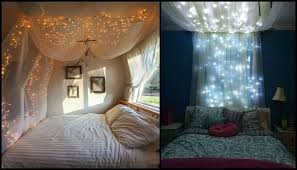Bed Canopy With Lights Make A Magical Bed Canopy With Lights Diy Projects For Everyone