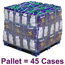 mardi gras throws wholesale 33 inch metallic orange mardi gras pallet 45 cases
