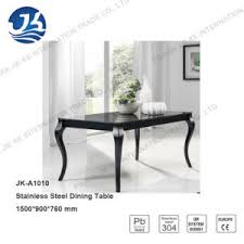 marble and stainless steel dining table china modern louise style black marble dining table with stainless