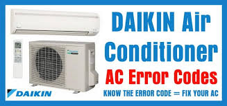 daikin air conditioner ac error codes removeandreplace com