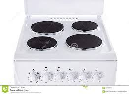 stove top electric stovetop stock image image of stainless steel 62408037