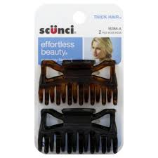 jaw clip 2 pack thick hair jaw clip