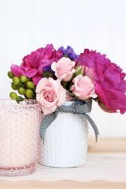 Beaded Vases Milk Glass For Weddings