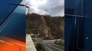 Chair Lift In Gatlinburg Helicopters Begin Flying In Concrete To Rebuild Gatlinburg Sky Lift