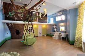 interior design for kids bedroom tree house design for kids with made of white wood irosi