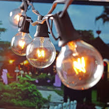 Clear Globe String Lights Outdoor by Online Get Cheap Patio String Lights Aliexpress Com Alibaba Group