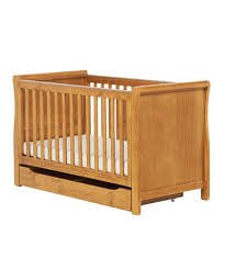 Silver Cross Nostalgia Sleigh Cot Bed Cot U0026 Cot Beds