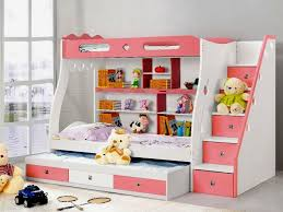 girls bunk beds with desk with slide bunk beds with slide for