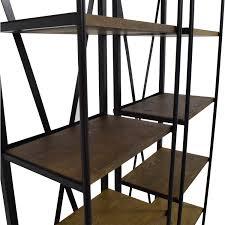 Shop Bookshelves by 47 Off Brennon Brennon Five Shelf Rustic Wood Bookshelves Storage