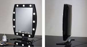 Makeup Mirrors The Original Lighted Makeup Mirror By Cantoni