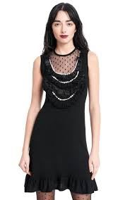 nanette lepore nanette lepore black women s sideshow shift out dress
