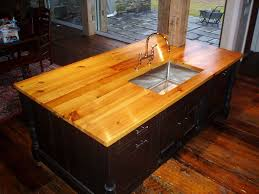wood kitchen island top premium wide plank wood countertops custom