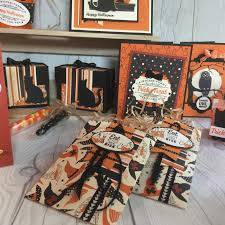 stamped sophisticates halloween craft ideas with spooky night suite