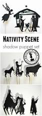 nativity shadow puppet set for christmas adventure in a box
