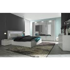 cdiscount chambre complete adulte chambre à coucher complète panarea led laquée achat vente