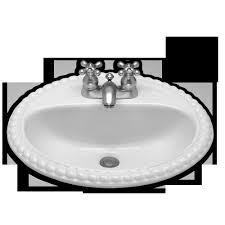 American Standard Vanities Vanities Bathroom Sink Top Mount Ropetwist Top Mount Bathroom