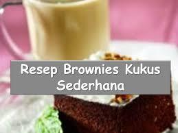 cara membuat brownies kukus simple cara membuat kue brownies kukus resep sederhana youtube