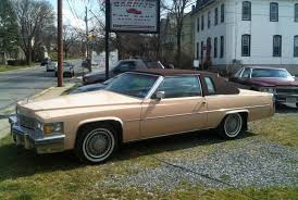 1978 cadillac coupe de ville with phaeton option package in