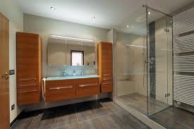 umbau badezimmer umbau eines bades möbelideen