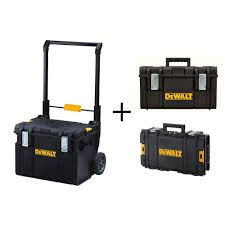 tool box dewalt toughsystem ds450 22 in 17 gal mobile tool box ds130 tool