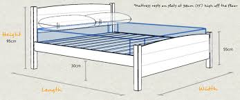 Height Of Bed Frame Traditional Country Bed Get Laid Beds