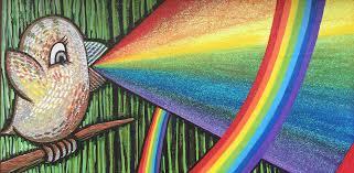 Psychedelic Meme - rainbow puke a meme analysis foreverbird studio