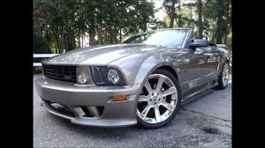 mustang convertibles for sale 2005 ford mustang saleen convertible for sale