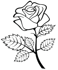 rose coloring sheets to print coloring pages ideas