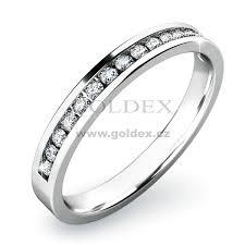 zasnubni prsten zásnubní prsten s diamanty zp 10812d goldex cz