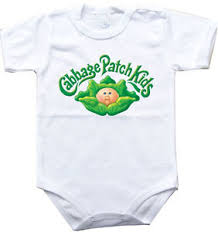 Cabbage Patch Kid Halloween Costume Baby Bodysuit Cabbage Patch Kids 1 Piece Jersey Bib Halloween