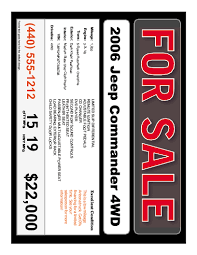 car for sale template gbabogados co