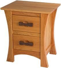 zen nightstand with drawers solid wood nightstand in the zen style