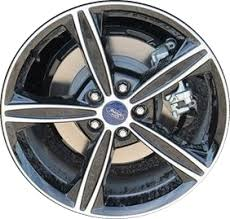 rims for 2014 ford fusion aly3985 ford fusion wheel black machined fs7z1007a