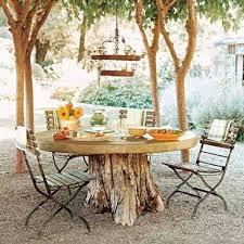 tree stump table base idea for farm diy garden party pinterest tree stump outdoor