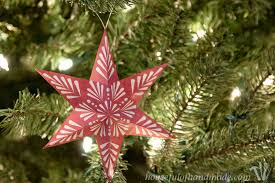 free printable 3d snowflake ornaments a houseful of handmade