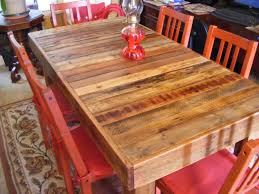 dining table rustic reclaimed wood dining table pythonet home