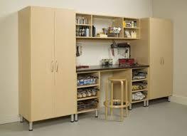 garage tall corner cabinet kitchen transitional with appliance