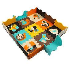tappeti puzzle bambini tappeto puzzle tappetini puzzle per bambini 25 pezzi con la recinzione
