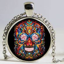 buy candy skull tattoo and get free shipping on aliexpress com