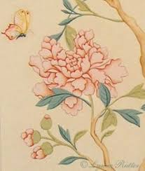 Wallpaper With Birds Chinoiserie Wallpaper With Birds Hand Painted Wallpaper