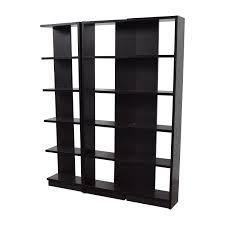 73 off west elm west elm floating book shelf storage