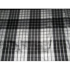 Silk Plaid Drapes Silk Dupioni 44
