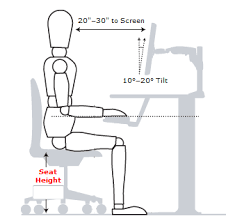 Desk Height Calculator by How To Be Damn Good At Sitting The Science Of Proper Posture