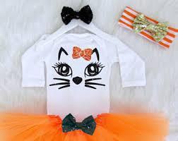 Baby Cat Halloween Costume Baby Cat Costume Etsy