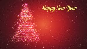 happy new year moving cards merry christmas and happy new year greeting intro card template